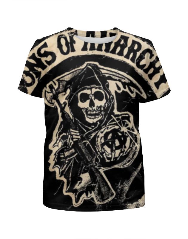 Футболка с полной запечаткой для девочек Printio Сыны анархии (sons of anarchy) футболка с полной запечаткой для девочек printio sons of anarchy сыны анархии