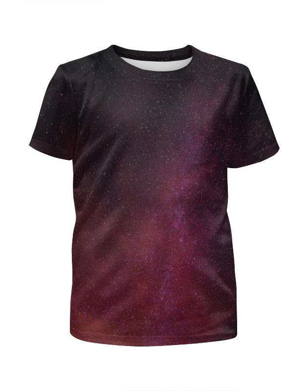 Футболка с полной запечаткой для девочек Printio Звездная ночь футболка с полной запечаткой для девочек printio пртигр arsb