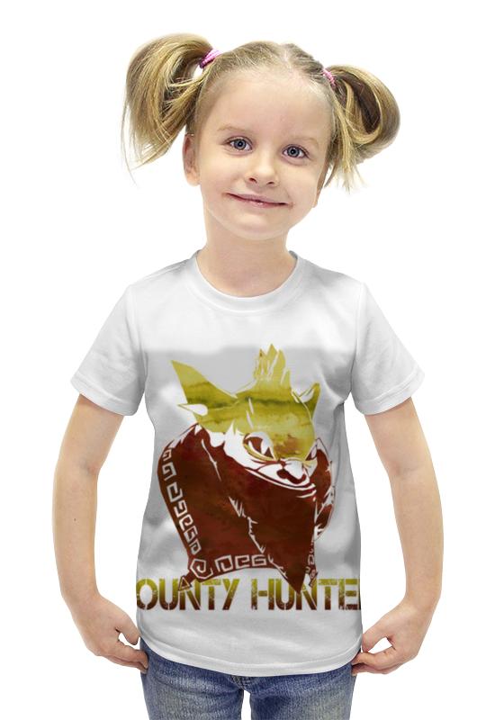 Футболка с полной запечаткой для девочек Printio Bounty hunter dota 2 футболка с полной запечаткой для девочек printio dota 2 ember spirit