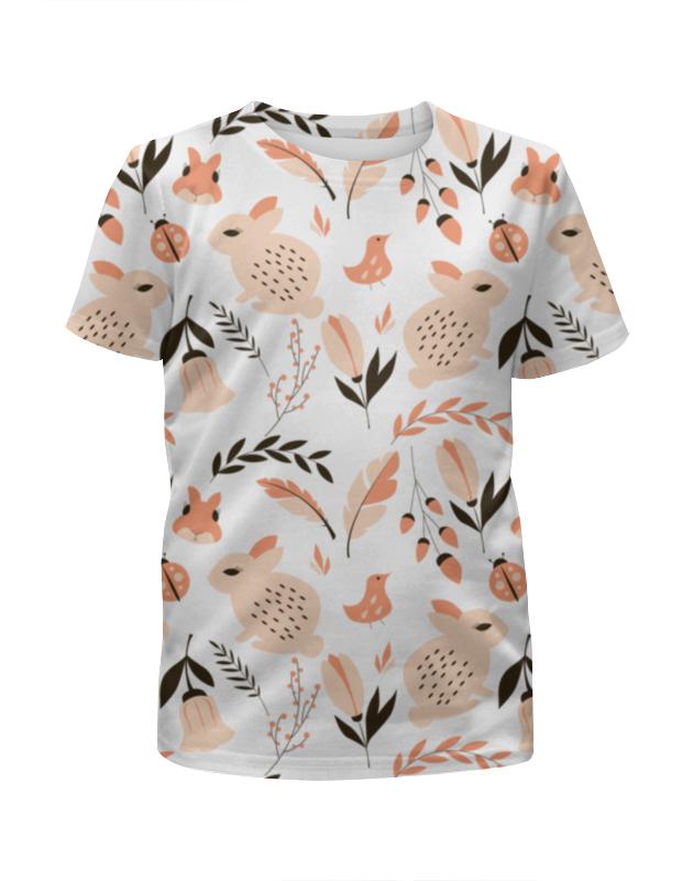 Футболка с полной запечаткой для девочек Printio Лесная поляна футболка с полной запечаткой для девочек printio spawn