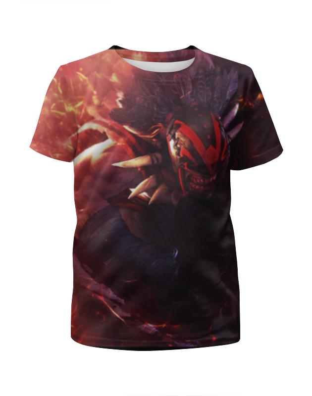 Футболка с полной запечаткой для девочек Printio T-shirt bloodseeker футболка классическая printio dota2 t shirt