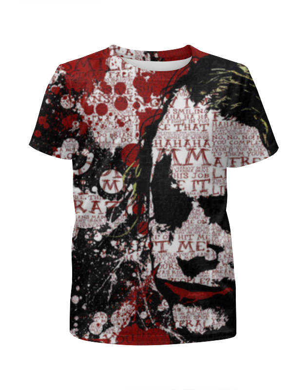 Футболка с полной запечаткой для девочек Printio Joker футболка с полной запечаткой для девочек printio joker