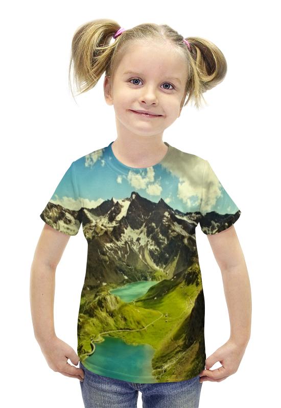 Футболка с полной запечаткой для девочек Printio Италия футболка с полной запечаткой для девочек printio пртигр arsb