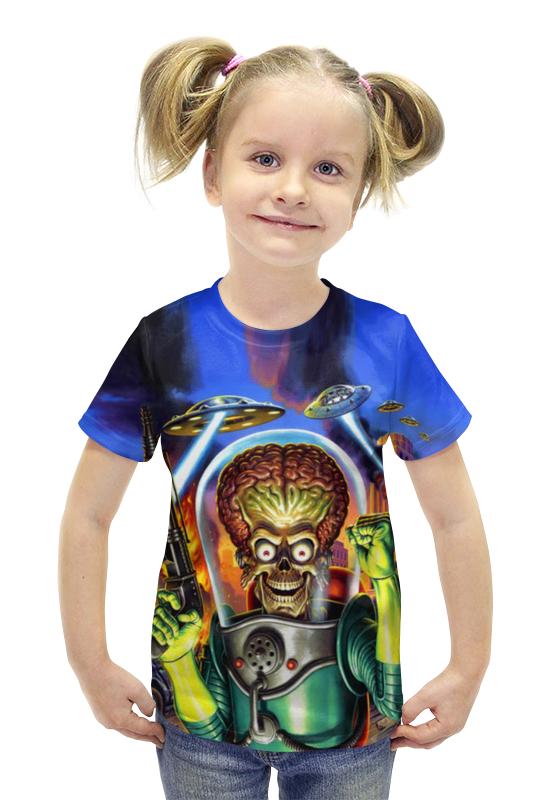 Футболка с полной запечаткой для девочек Printio Инопланетянин футболка с полной запечаткой для девочек printio пртигр arsb