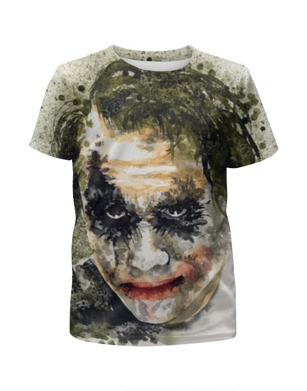Футболка с полной запечаткой для девочек Printio Джокер , joker костюм веселого клоуна 34