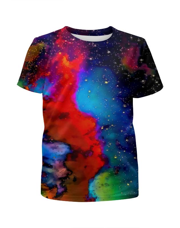Футболка с полной запечаткой для девочек Printio Краски космоса футболка с полной запечаткой для девочек printio жидкие краски