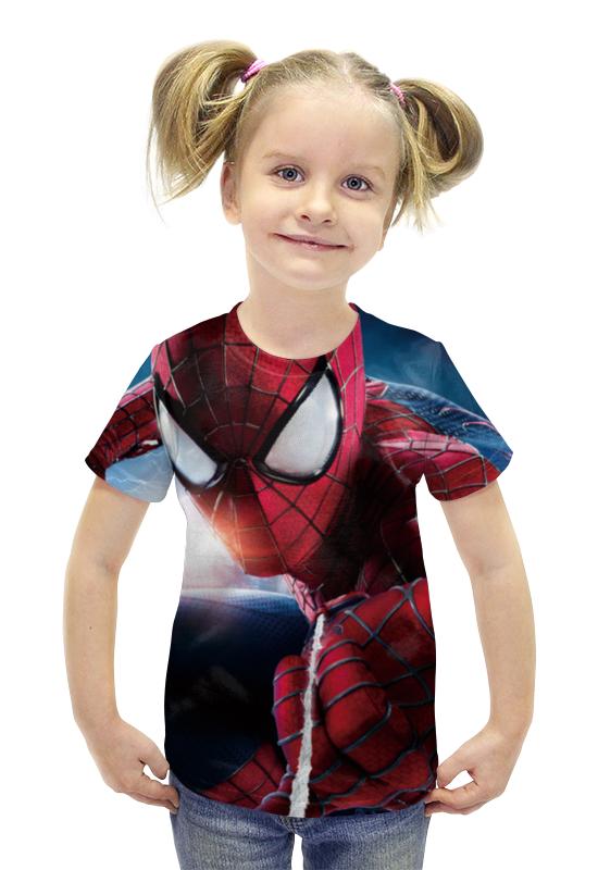 Футболка с полной запечаткой для девочек Printio Spider-man футболка с полной запечаткой для девочек printio пртигр arsb