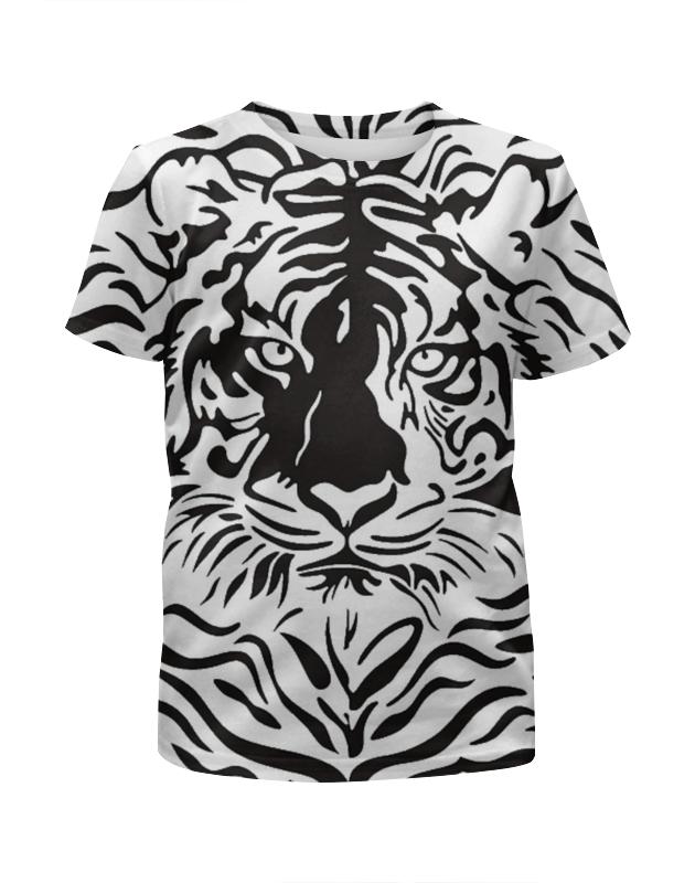 Футболка с полной запечаткой для девочек Printio Взгляд тигра хоук к в поисках тигра