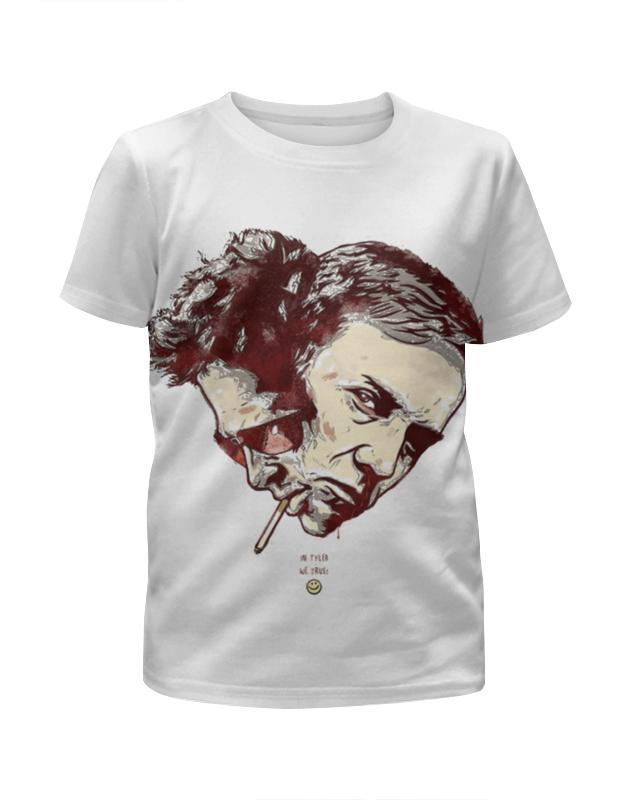 Футболка с полной запечаткой для девочек Printio Бойцовский клуб футболка с полной запечаткой printio фан клуб вовочки