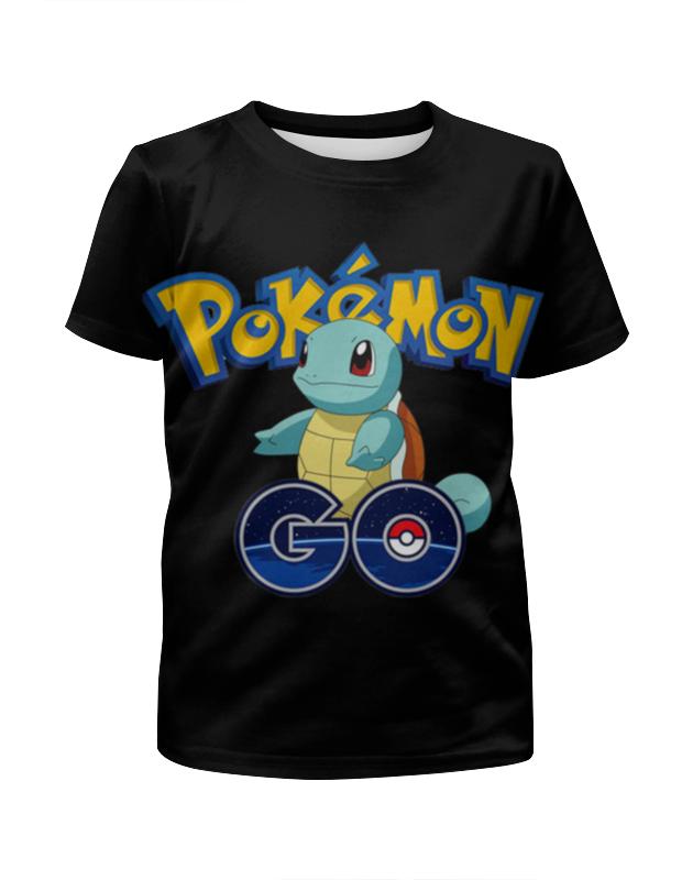 Футболка с полной запечаткой для девочек Printio Pokemon go футболка с полной запечаткой для девочек printio spawn