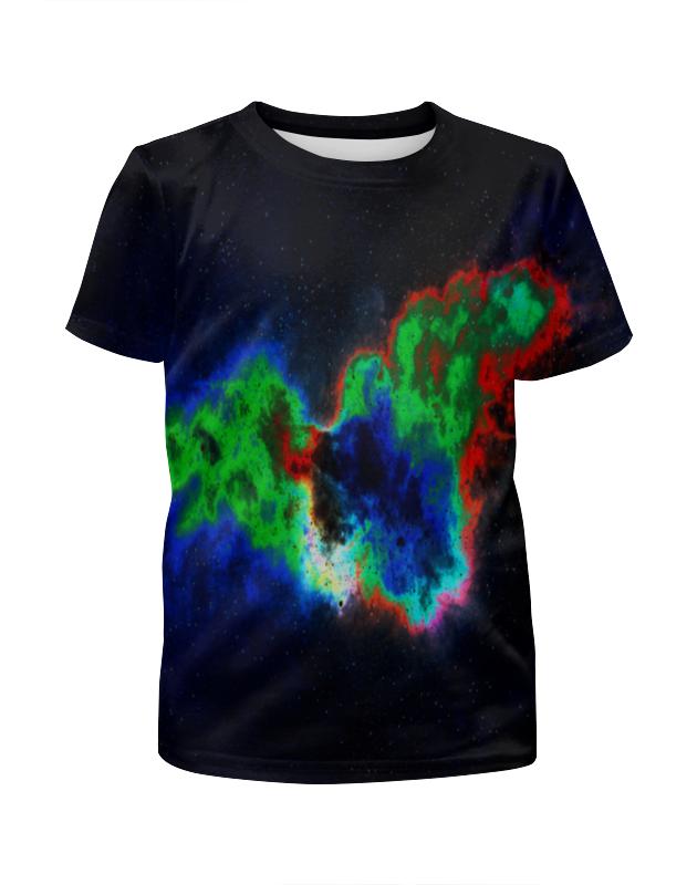 Футболка с полной запечаткой для девочек Printio Космический взрыв футболка с полной запечаткой для девочек printio дайвинг