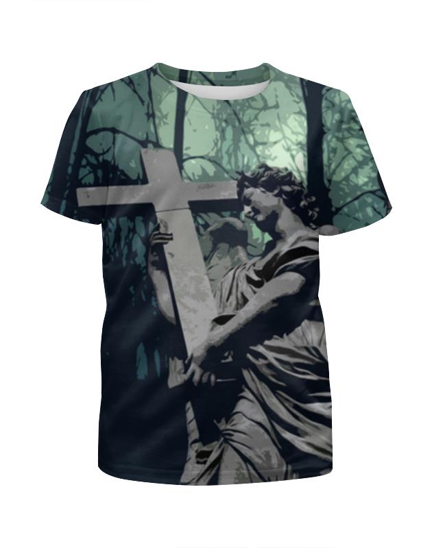 Футболка с полной запечаткой для девочек Printio ангел - halloween ed футболка с полной запечаткой женская printio ангел
