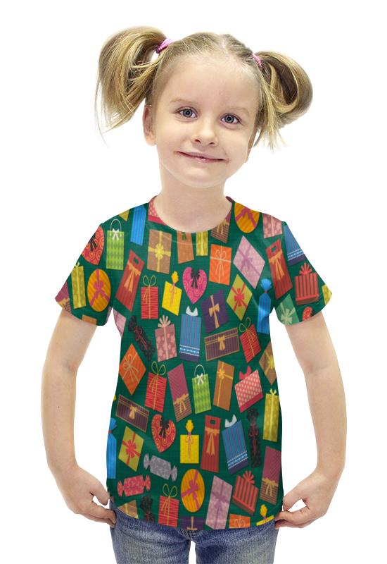 Футболка с полной запечаткой для девочек Printio Подарок футболка с полной запечаткой для девочек printio пртигр arsb