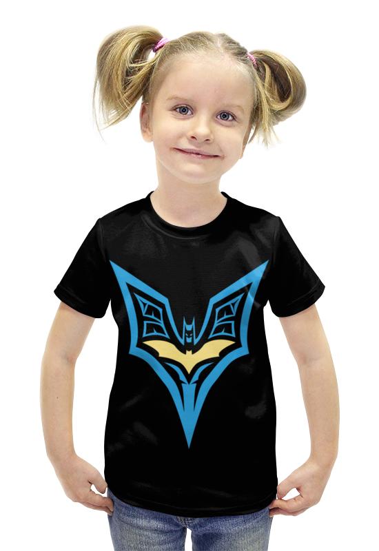 Футболка с полной запечаткой для девочек Printio Batman футболка с полной запечаткой для девочек printio spawn
