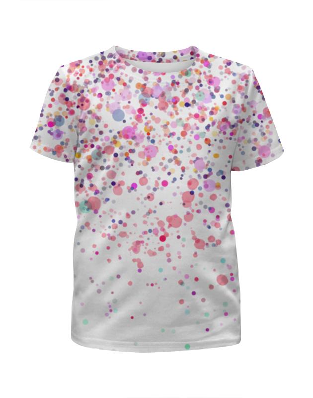 Футболка с полной запечаткой для девочек Printio Конфетти футболка с полной запечаткой для девочек printio на отдых