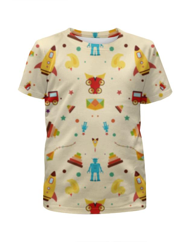 Футболка с полной запечаткой для девочек Printio Детство футболка с полной запечаткой для девочек printio детство