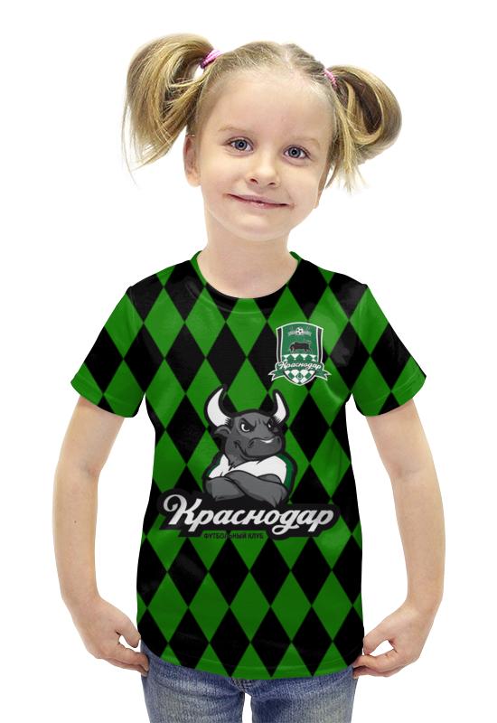 Футболка с полной запечаткой для девочек Printio Краснодар пфк монитор краснодар