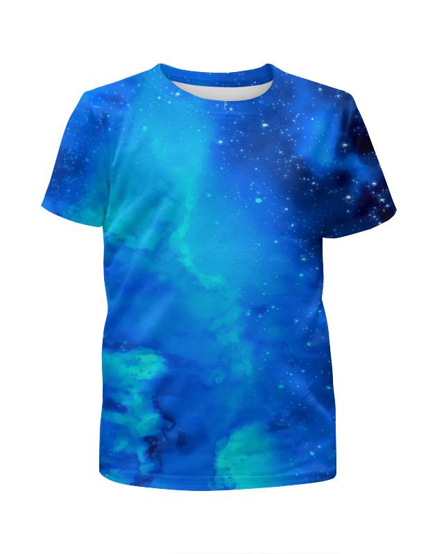 Футболка с полной запечаткой для девочек Printio Звездное небо футболка с полной запечаткой для девочек printio пртигр arsb