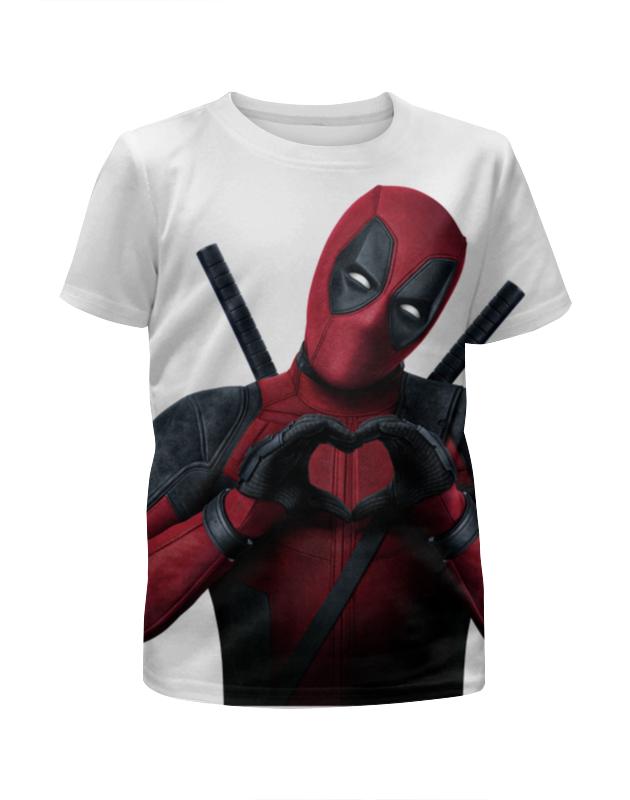 Футболка с полной запечаткой для девочек Printio Love deadpool футболка с полной запечаткой для девочек printio дайвинг