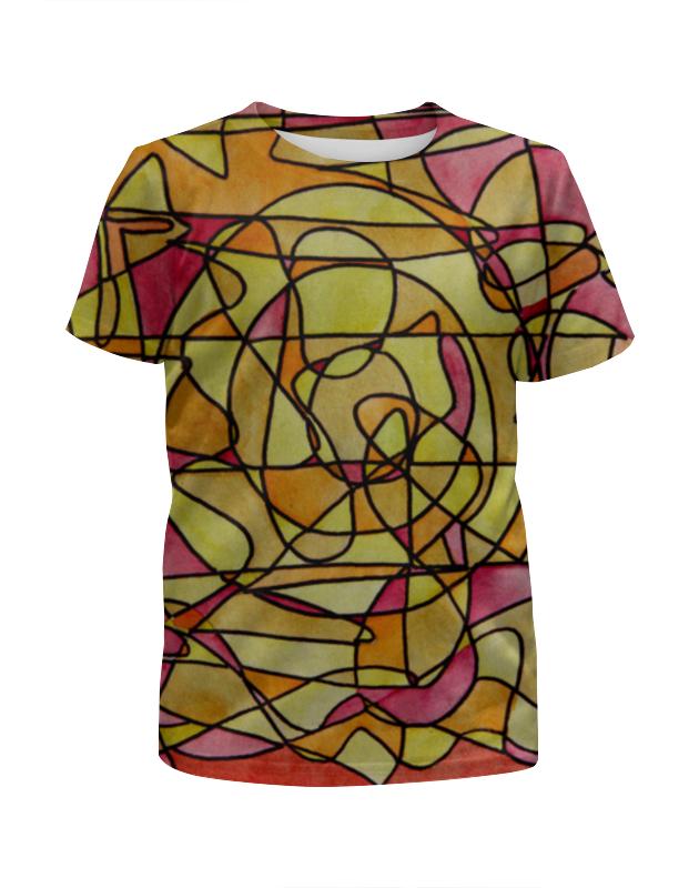 Футболка с полной запечаткой для девочек Printio Bdbd--;12 футболка с полной запечаткой для девочек printio пртигр arsb