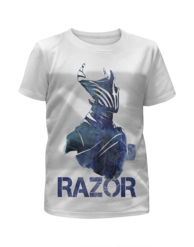 Футболка с полной запечаткой для девочек Printio Razor dota 2 футболка с полной запечаткой для девочек printio dota 2 lina on fire