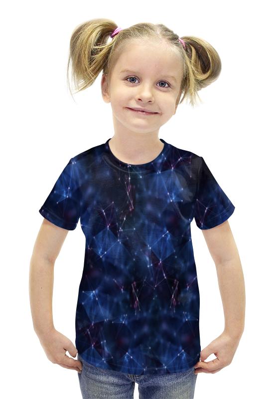 Футболка с полной запечаткой для девочек Printio Созвездия футболка с полной запечаткой для девочек printio spawn