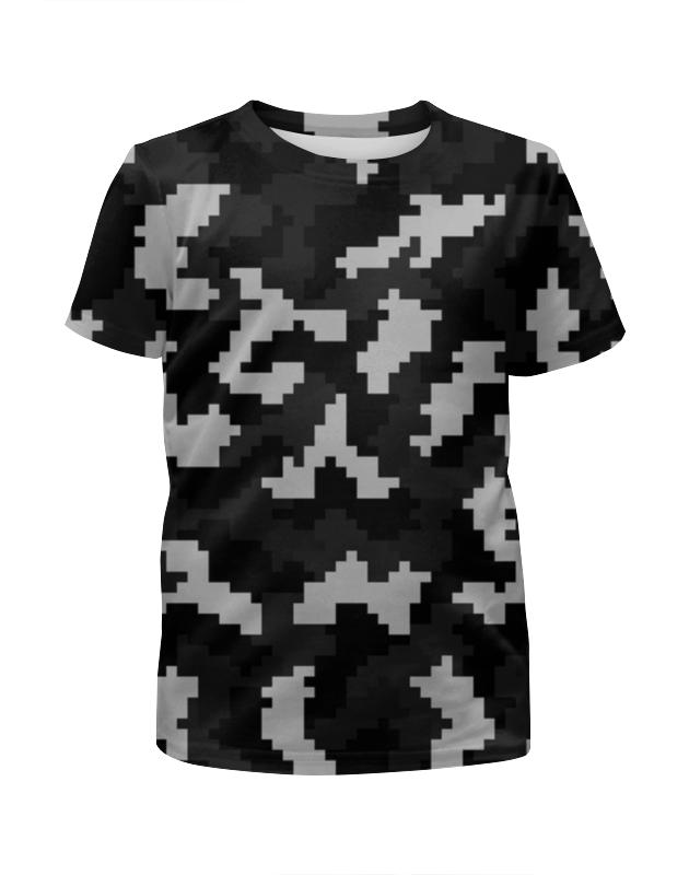Футболка с полной запечаткой для девочек Printio Пиксели футболка с полной запечаткой для девочек printio мишка тед