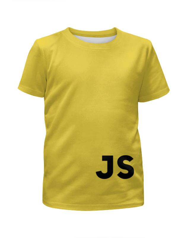 Футболка с полной запечаткой для девочек Printio Javascript javascript enlightenment
