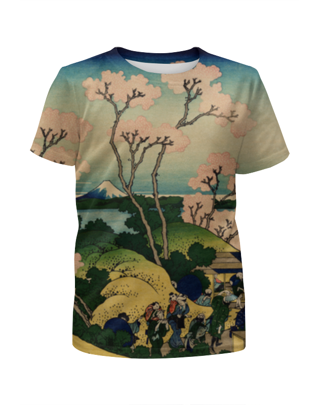 Футболка с полной запечаткой для девочек Printio Япония футболка с полной запечаткой для девочек printio ворона