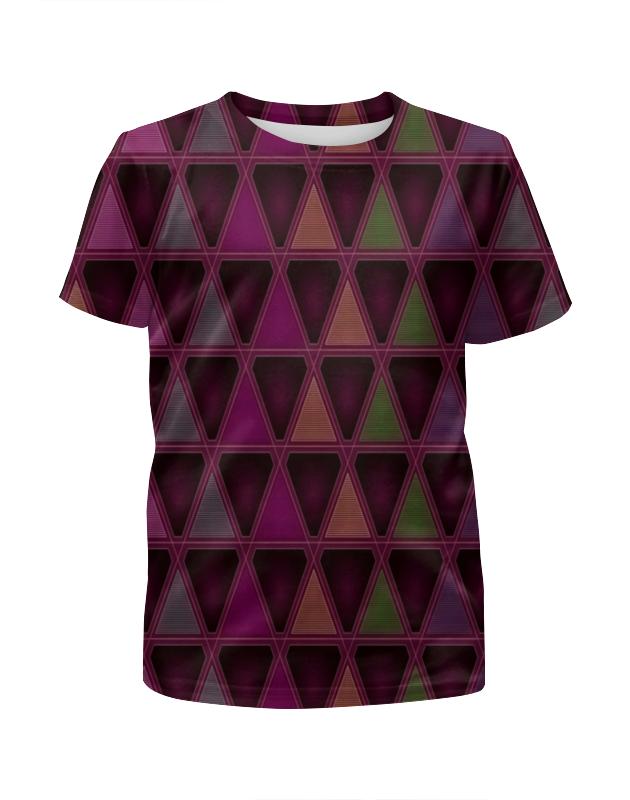 Фото - Printio Геометрический футболка с полной запечаткой для девочек printio геометрический