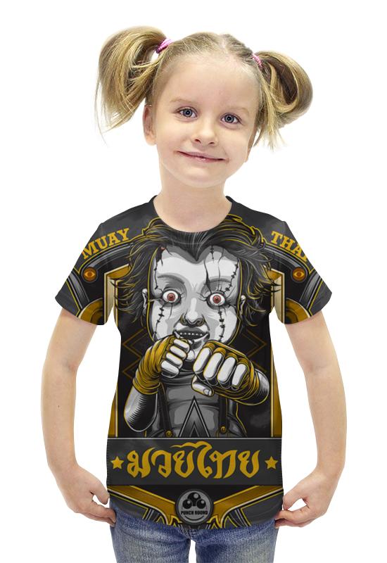 Футболка с полной запечаткой для девочек Printio Muay thai футболка с полной запечаткой printio важнейшее из искусств мужская
