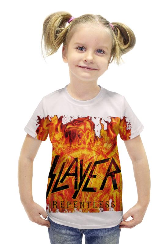 Футболка с полной запечаткой для девочек Printio Slayer repentless 2015 (3)