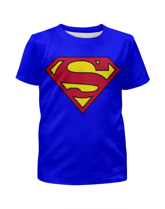 Printio Супермен футболка с полной запечаткой для девочек printio супермен superman