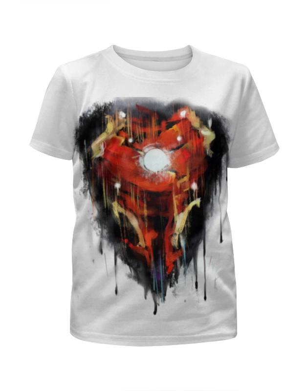 Футболка с полной запечаткой для девочек Printio Iron man / железный человек футболка с полной запечаткой женская printio железный человек