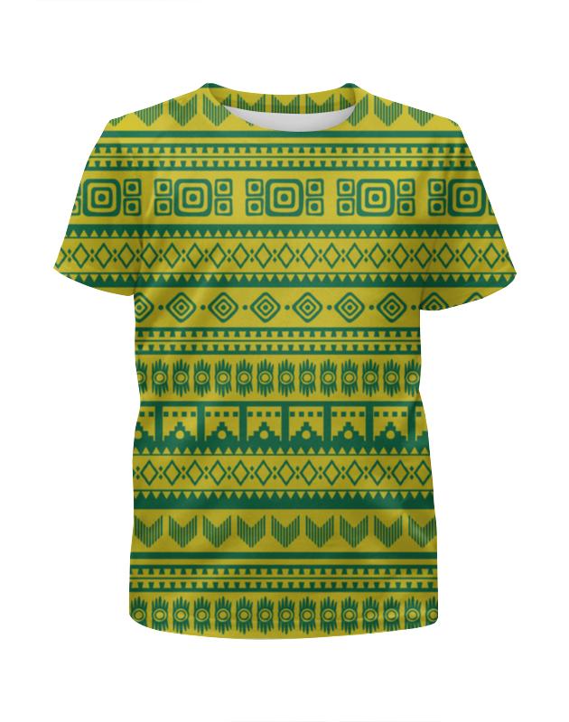 Футболка с полной запечаткой для девочек Printio Aztec худи print bar aztec