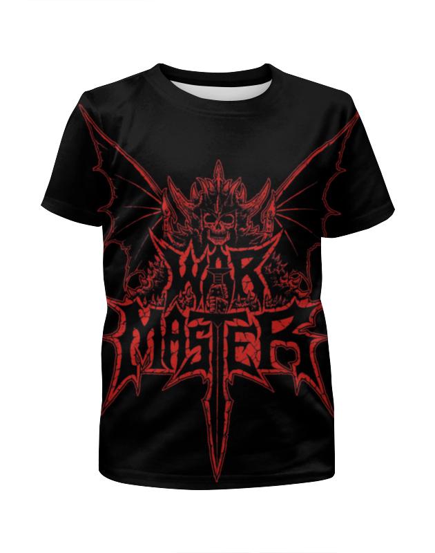 Футболка с полной запечаткой для девочек Printio War master футболка с полной запечаткой мужская printio war master