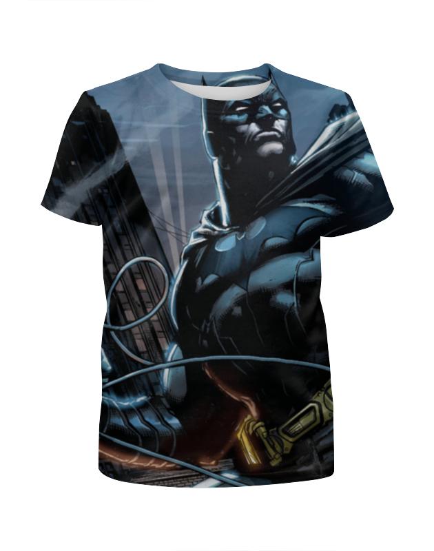 Футболка с полной запечаткой для девочек Printio Batman print футболка с полной запечаткой для девочек printio бэтмен batman