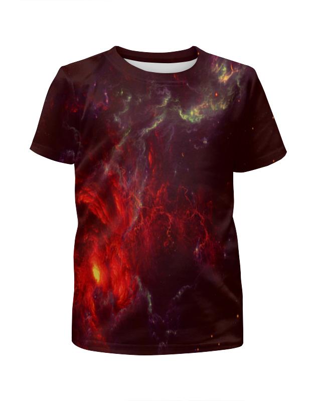 Футболка с полной запечаткой для девочек Printio Atlantis nebula футболка print bar russia nebula