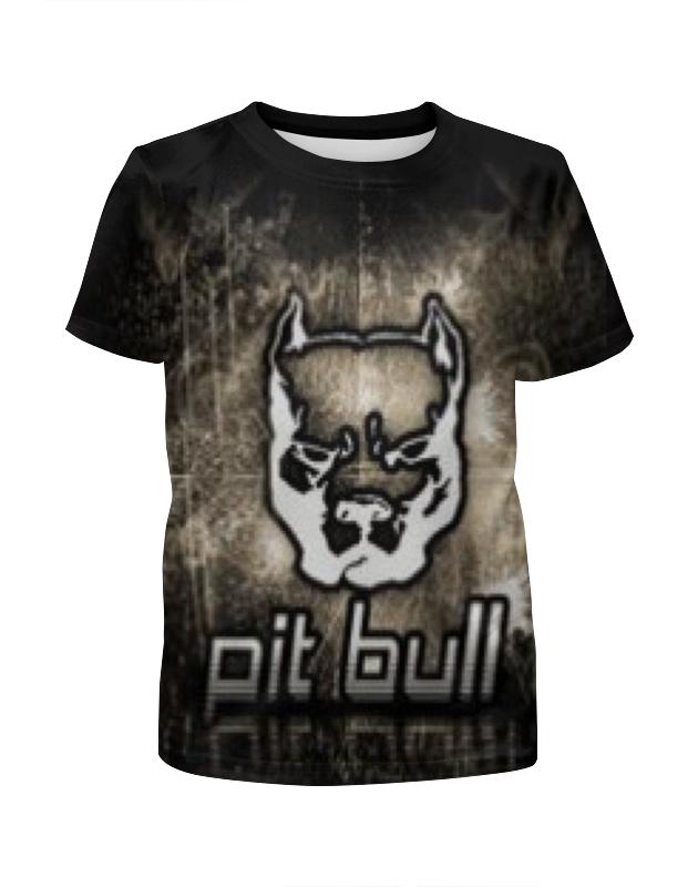 Футболка с полной запечаткой для девочек Printio Pit bull футболка с полной запечаткой для девочек printio пртигр arsb