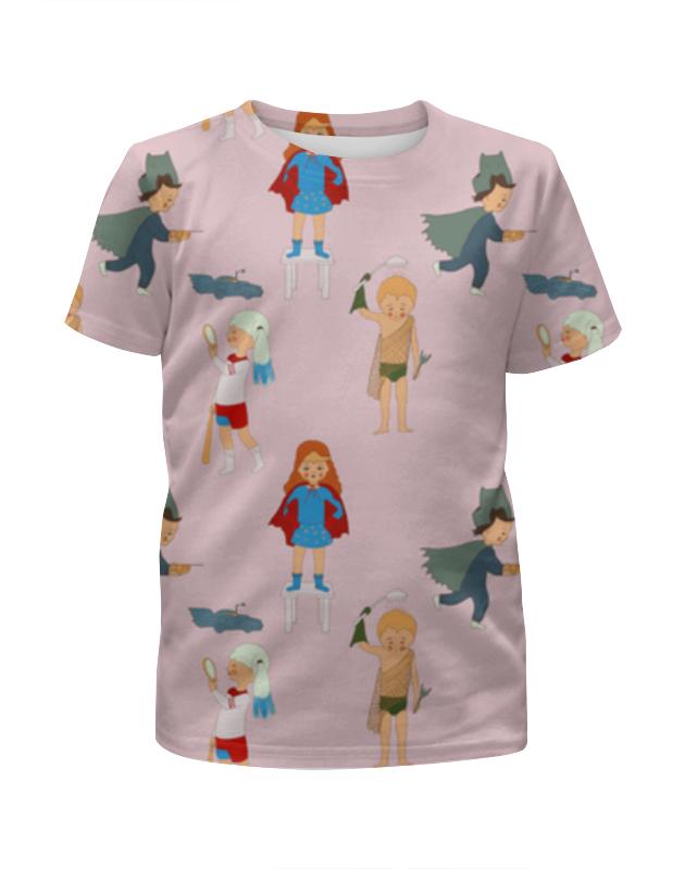 Футболка с полной запечаткой для девочек Printio Супердети футболка с полной запечаткой для девочек printio волгоградская область