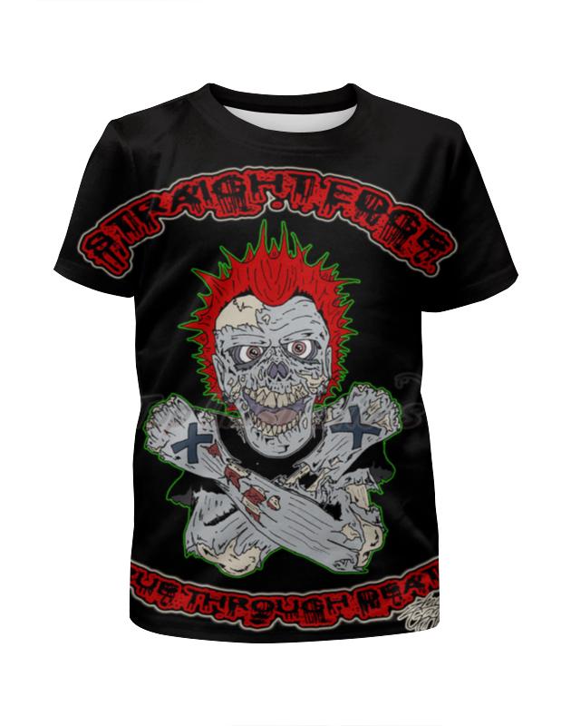 Printio Зомби sxe футболка с полной запечаткой для девочек printio зомби геймер