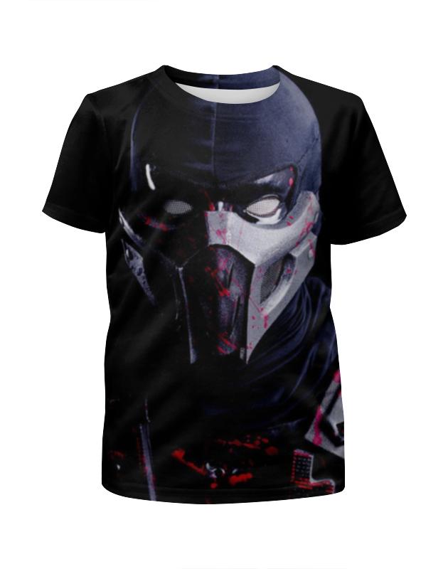 Футболка с полной запечаткой для девочек Printio Mortal kombat футболка с полной запечаткой для девочек printio slove arsb
