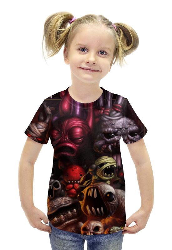 Футболка с полной запечаткой для девочек Printio Монстрики футболка с полной запечаткой для девочек printio spawn