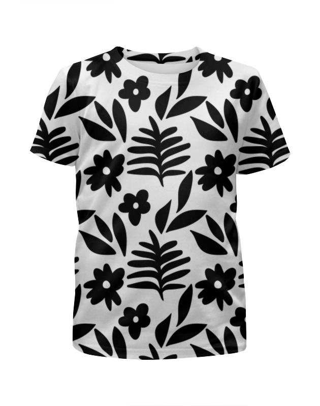 Printio Черно-белые цветы printio белые цветы