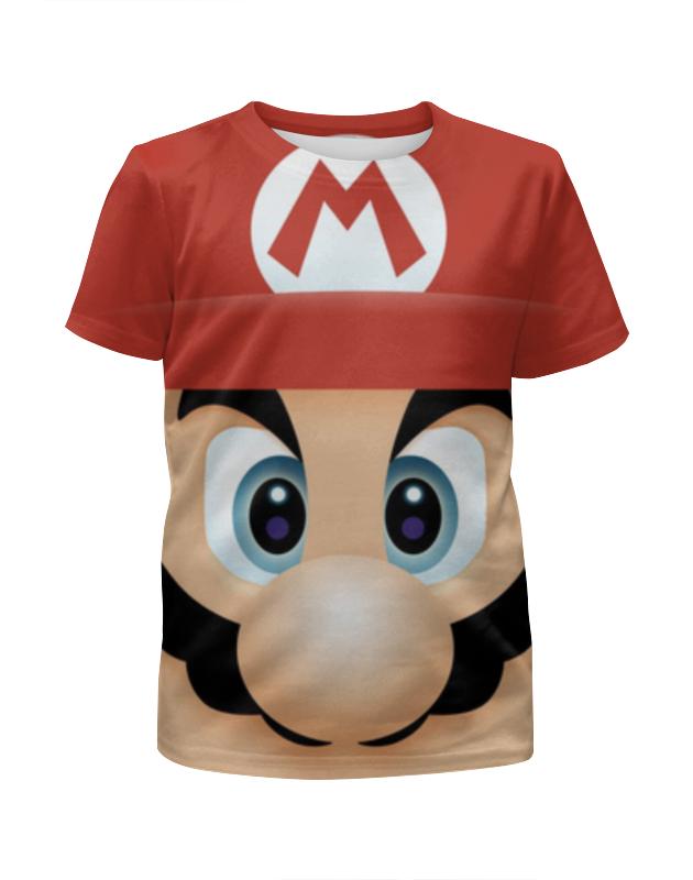 Футболка с полной запечаткой для девочек Printio Марио 3d футболка с полной запечаткой для девочек printio марио и луиджи марио mario