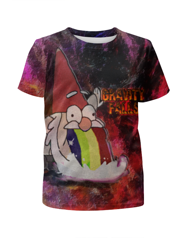 Printio Gravity falls футболка с полной запечаткой для девочек printio гравити фолз gravity falls