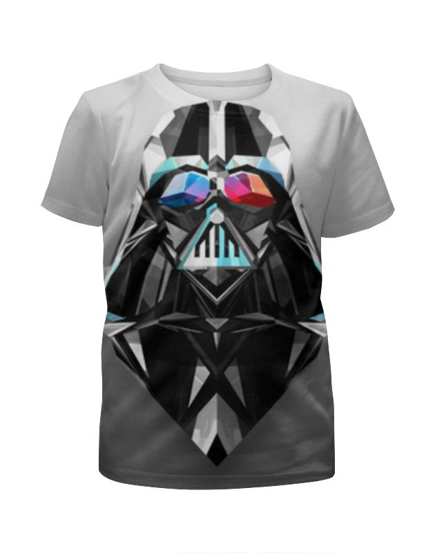 Футболка с полной запечаткой для девочек Printio Дарт вейдер (звездные войны) футболка с полной запечаткой для девочек printio даффи дак дарт вейдер