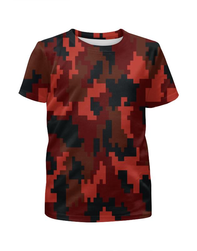 Футболка с полной запечаткой для девочек Printio Camouflage футболка с полной запечаткой для девочек printio camouflage style
