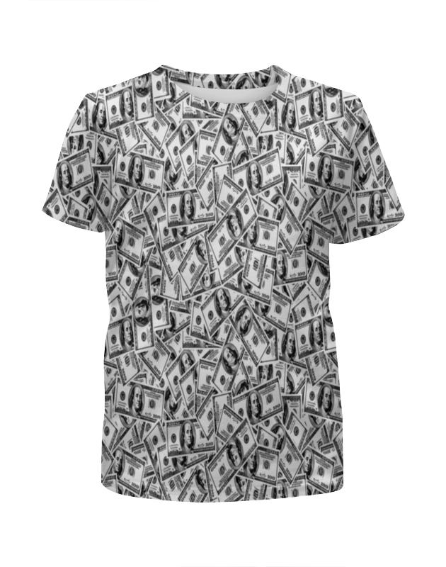 Футболка с полной запечаткой для девочек Printio Доллар футболка с полной запечаткой для девочек printio доллар