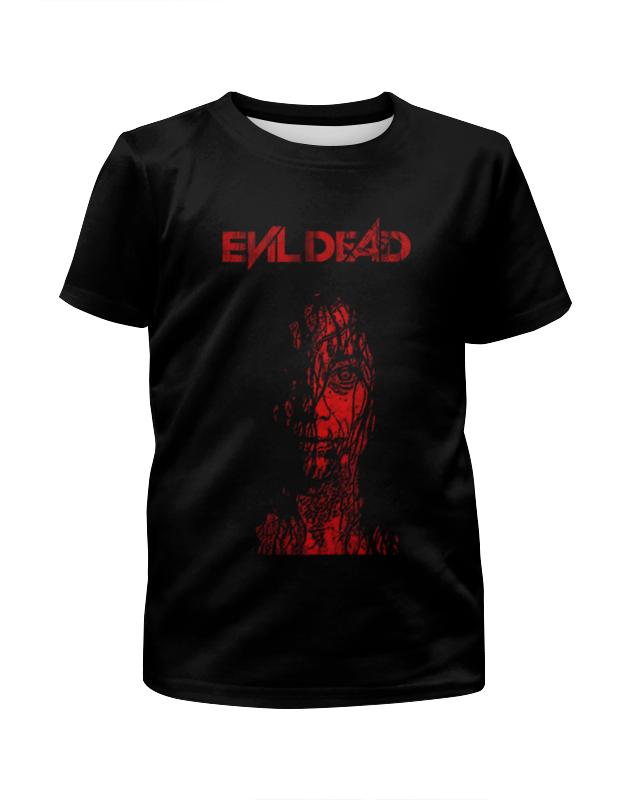 Футболка с полной запечаткой для девочек Printio Зловещие мертвецы / the evil dead свитшот унисекс с полной запечаткой printio зловещие мертвецы evil dead
